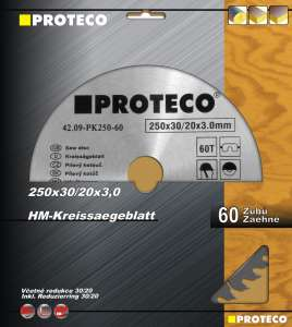 Kotouč pilový SK 300x3.2x30 96z + redukce 30/20 mm