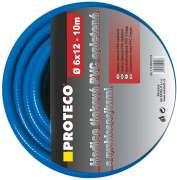 Hadice tlaková PVC opletená  6/12mm  10 m  s rychlospojkami STOP